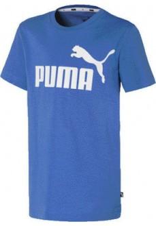 Puma Kid's T-Shirt Ess Logo Blue 852542-41   Kids' T-Shirts   scorer.es