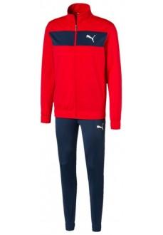Chandal Hombre Puma Techstripe Tricot Suit Marino/Rojo 581595-11 | scorer.es