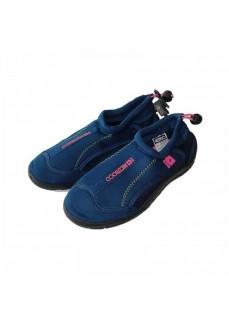 Nicoboco Women's Slippers Rouf Navy Blue 32-250-010W