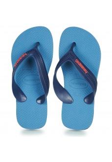Havaianas Kids' Flip Flops Max Navy Blue/Navy Blue 4130090.0718