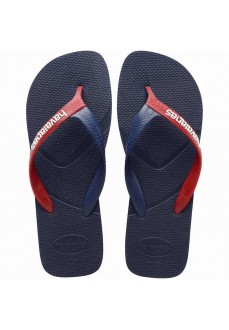 Havaianas Men's Flip Flops Casual Navy Blue/Red 4103276-4629