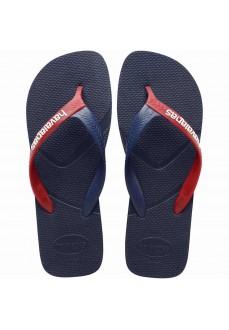 Havaianas Men's Flip Flops Casual Navy Blue/Red 4103276-4629 | Men's Sandals | scorer.es