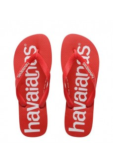 Havaianas Men's Flip Flops Logomania Red 4144264.2090