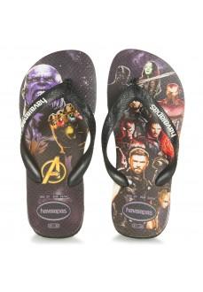 Havaianas Kids' Flip Flops Top Marvel Black 4139511.4058