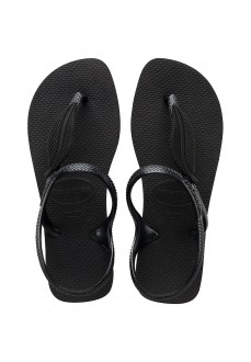 Havaianas Women's Flip Flops Flash Urban Plus Black 4144382.0090