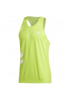 Camiseta Hombre Adidas Otr Singlet 3S Verde FQ2532