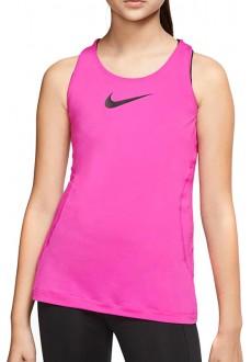Nike Girl's T-Shirt Pro Fuchsia AQ9039-601