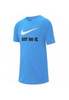 Nike Boy's T-Shirt Sportswear Blue AR5249-413   Kids' T-Shirts   scorer.es