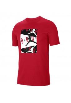 Camiseta Hombre Nike Jordan Air SS Crew Rojo CD5628-687 | scorer.es