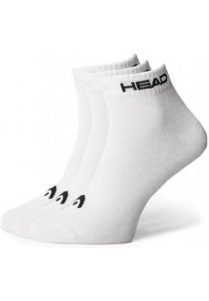 Head Socks Quarter 3P White 761011001-300 | Socks | scorer.es