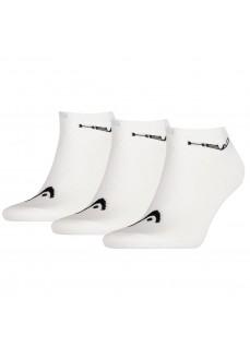 Calcetines Head Sneaker 3P Blanco 761010001-300 | scorer.es