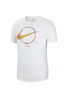 Nike Men's T-Shirt Tee Preheat White CT6871-100   Men's T-Shirts   scorer.es