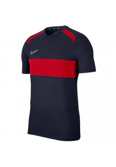 Nike Men's T-Shirt Dri-FIT Academy Navy Blue/Red BQ7352-452