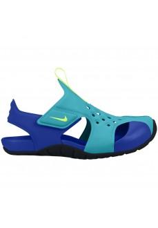 Sandalia Nike Sunray Protect 2 Verde/Azul 943826-303 | scorer.es
