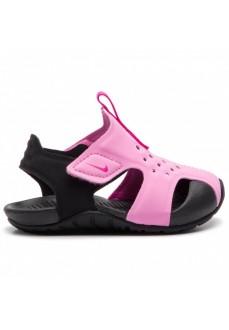 Sandalia Nike Sunray Protect 2 Rosa/Negro 943827-602