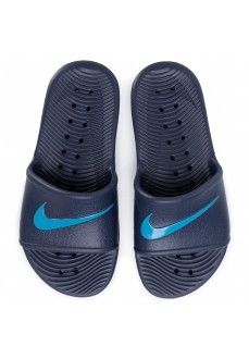 Nike Kids' Flip Flops Kawa Shower Navy Blue/Blue BQ6831-402 | Kid's Sandals | scorer.es