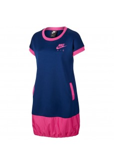 Nike Girl's Dress Air Blue/Fuchsia CU2458-492 | Skirts/Dresses | scorer.es