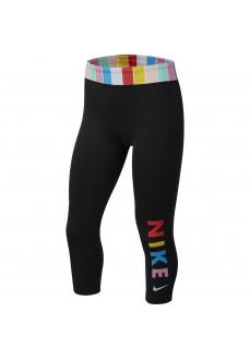 Nike Girl's Tights Sportswear Black CJ7671-010