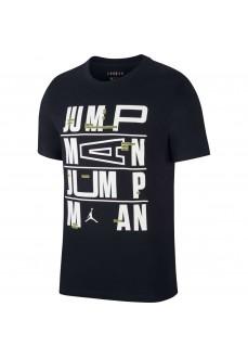 Camiseta Hombre Nike Jordan Dri-Fit Negro CJ6302-010