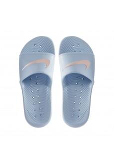 Nike Women's Flip Flops Kawa Shower Blue 832655-401 | Nike Women's Sandals | scorer.es