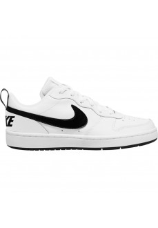 Zapatillas Niño/a Nike Court Borough Blanco/Negro BQ5448-104 | scorer.es