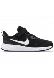 Zapatilla Niño/a Nike Revolution 5 Negro/Blanco BQ5672-003