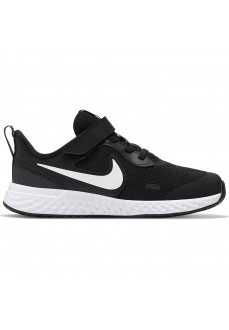 Nike Kids' Trainers Revolution 5 Black/White BQ5672-003