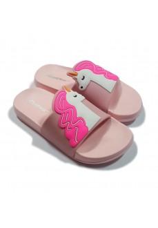 Nicoboco Girl's Flip Flops Umi Pink 32-117-260   Kid's Sandals   scorer.es