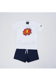 Champion Infant Set WW001 White/Navy Blue 305286-WW001-WHT