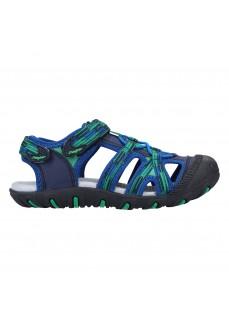 J´Hayber Kids' Flip Flops Oideno Blue/Green ZN53364-37 | Kid's Sandals | scorer.es