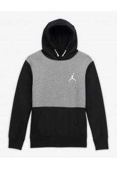Nike Kids' Sweatshirt Jordan Pull-Over Hoody Black/Gray 957610-K6N | Kids' Sweatshirts | scorer.es