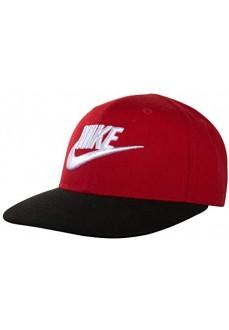Gorra Nike Poly Rojo/Negro 8A2560-U10 | scorer.es