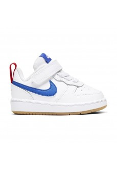 Zapatillas Niño/a Nike Court Borough Blanco/Azul BQ5453-109