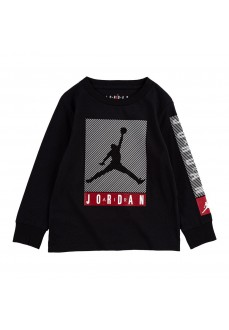 Sudadera Niño/a Nike Jordan Tee Negro 95A071-023 | scorer.es
