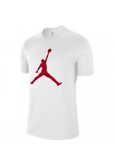 Camiseta Hombre Nike Jordan Jumpman Blanco/Rojo CJ0921-102