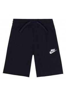 Pantalón Corto Infantil Nike Club Jersey Marino 8UB447-695