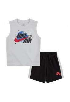 Conjunto Infantil iNike Air Muscle And Short Marino/Blanco 66G417-023