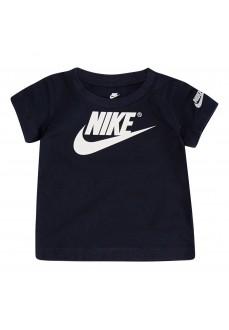 Nike Kids' Futura Is Mine SS Navy Blue T-Shirt 86E765-695