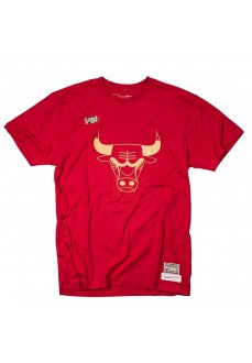 Mitchell & Ness Hombre Chicago Bulls Rojo BMTRBW1904-CBURED1