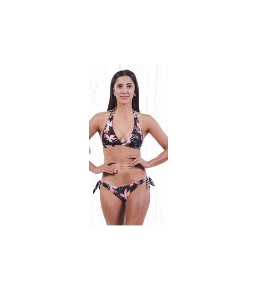 Totsol Women's Bikini Flowers Red Black 81025 | Bikinis | scorer.es