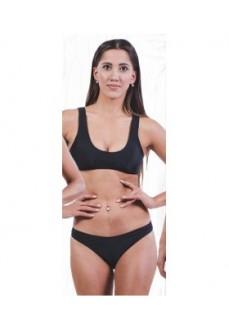 Bikini Mujer Totsol Talle Alto Negro 80005