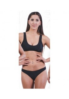 Totsol Women's Bikini Talle Alto Black 80005 | Bikinis | scorer.es