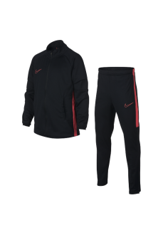 Nike Girl's Tracksuit Dry Academy Suit Black/Fuchsia AO0794-015 | Tracksuits for Kids | scorer.es