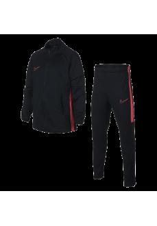 Nike Girl's Tracksuit Dry Academy Suit Black/Fuchsia AO0794-015