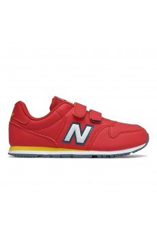 New Balance Kids' YV500 Red Trainers YV500 RRY