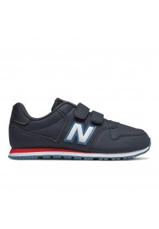 New Balance Kids' YV500 Navy Blue/White Trainers YV500 RNR