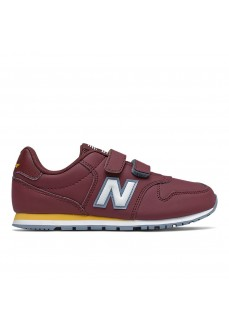 New Balance Kids' IV 500 Maroon/White Trainers YV500 RBB