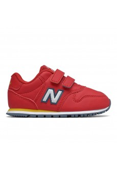 New Balance Kids' IV500 Red Trainers IV500 RRY