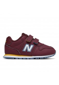 New Balance Kids' IV500 Maroon/White Trainers IV500 RBB