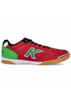 Kelme Men's Trainers Precision Red/Verde 55211-442
